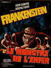 "Affiche française ""Frankenstein and the Monster From Hell"""